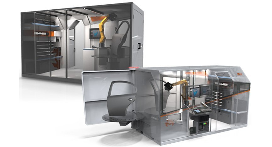 Scanmaster robotic dimensional inspection cell