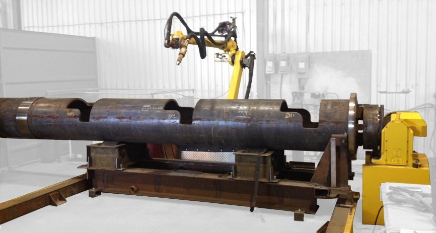 Robotic cell for welding and plasma