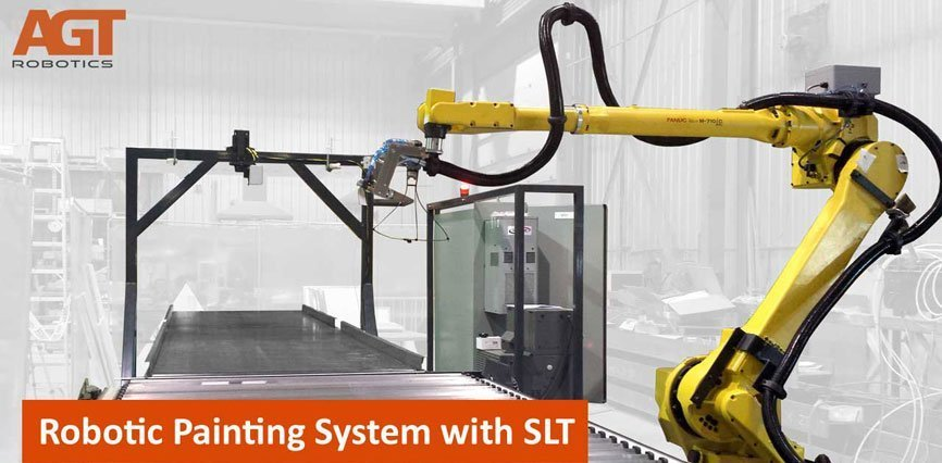 Robotic Painting System with SLT