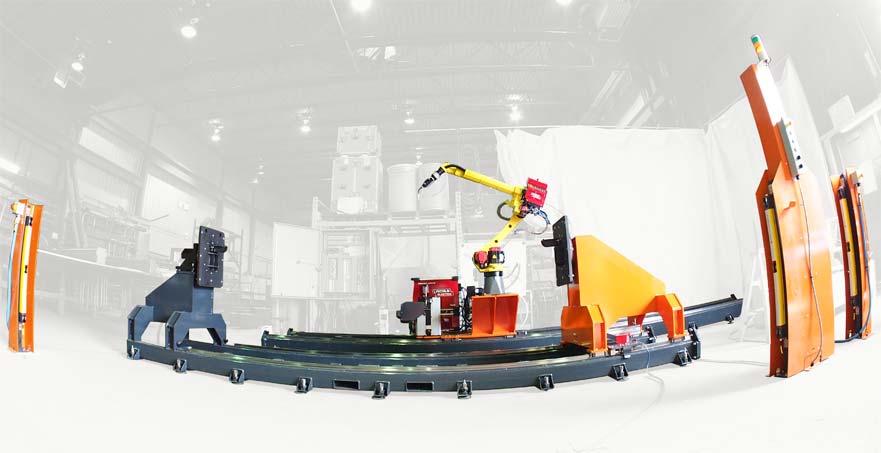 Generic Robotic Welding Cell
