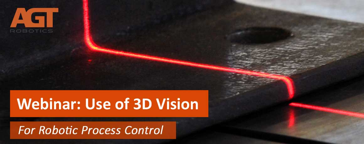 Use of 3D vision for robotic process control